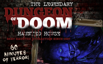 Legendary DUNGEON OF DOOM Haunted House